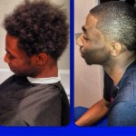 Andrew Wiggins gets a haircut