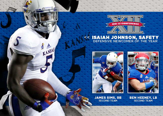 Several Jayhawks received honors from the Big 12. Credit: KUAthletics.com