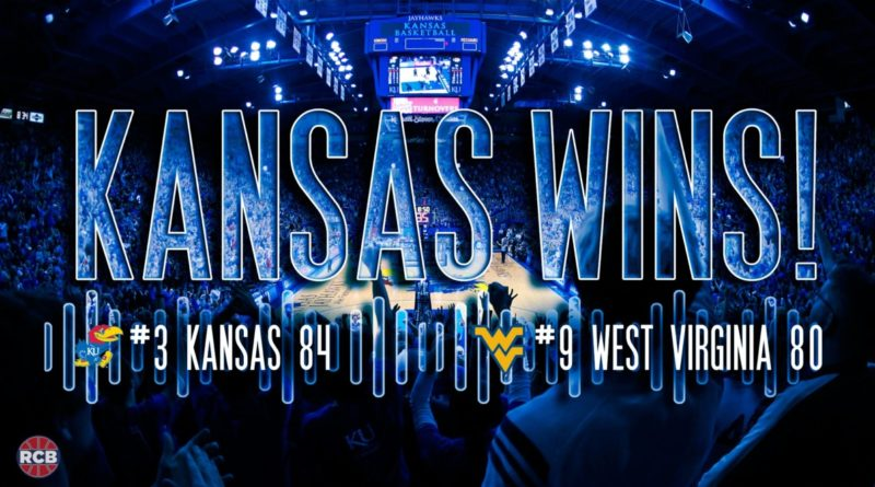 Kansas' overtime stunner against West Virginia became an instant classic. Graphic by Nick Weippert.