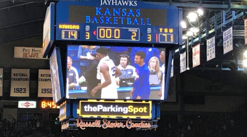 Jayhawks show their fangs in 114-71 blitzing of Texas Southern