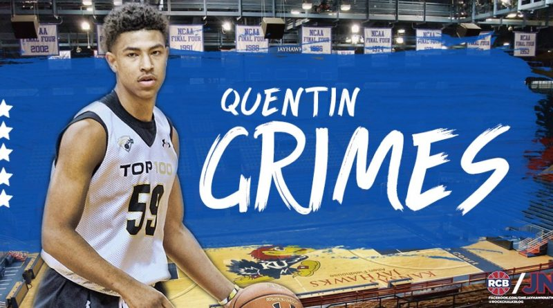 Five-star guard Quentin Grimes adds to Kansas' historic class