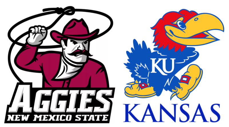 Game 8: New Mexico State at No. 2 Kansas – Preview and Prediction