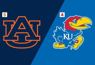 Game 36: (5) Auburn vs. (4) Kansas – Preview and Prediction